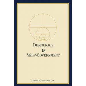 Democracy Is Self-Government Livro de capa mole (240 pp.)